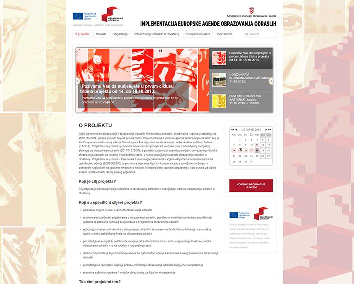 Ministarstvo znanosti obrazovanja i sporta_internet stranica